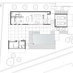 ground floor plan : Image Courtesy Arquitetura.501