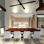 dining : Image courtesy Herryj Architects