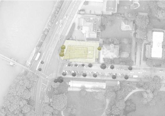 Site plan : Image courtesy Peter Lorenz Ateliers