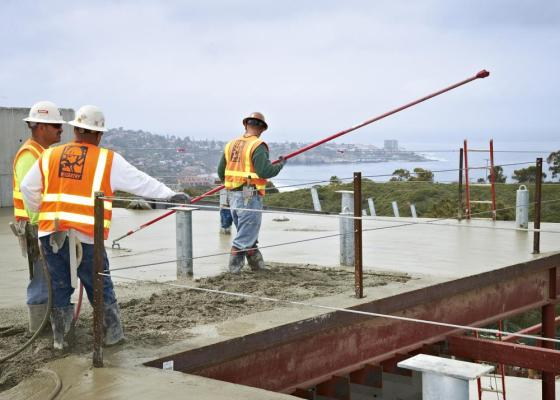 McCarthy Tops Out Concrete Construction for J. Craig Venter Institute on UCSD Campus : Image Courtesy © Steve Whalen
