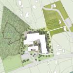 Site plan : Image Courtesy Hyperbuildings