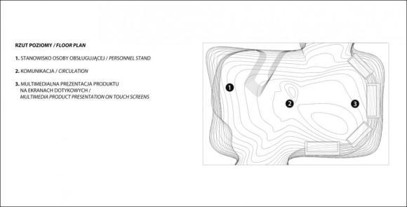 Floor Plan : Image courtesy Paulina Sasinowska, Anna Dobek, Mateusz Wojcicki