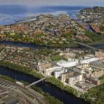 Image Courtesy © St. Olavs Hospital, Hospital development aerial