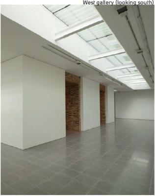 West gallery (looking south), Image Courtesy © Luke Hayes