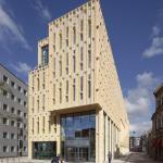 View Bartokplein, Image Courtesy scagliolabrakkee / © Neutelings Riedijk Architects