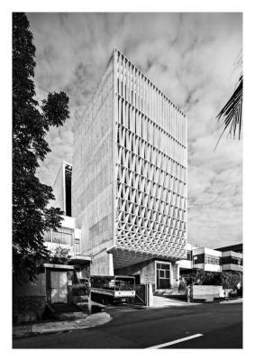 A Simple Factory Building (Singapore), Pencil Office
