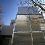 Back side façade; pergola and louver for the privacy , Image Courtesy © Shinsuke Kera/Urban Arts