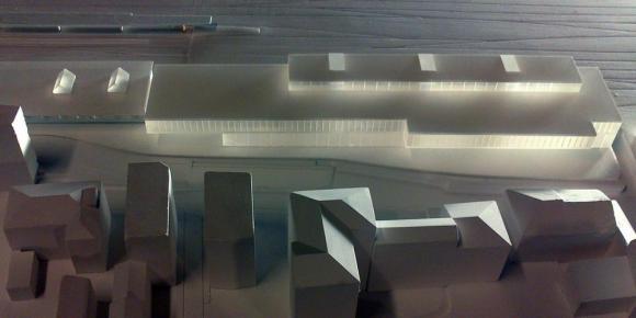 The model, Image Courtesy © C+S Architects