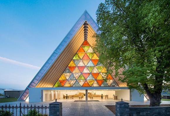 Cardboard Cathedral, Christchurch, New Zealand, 2013, Photo by Stephen Goodenough