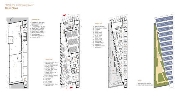 Floor Plans, Image Courtesy © Architerra Inc