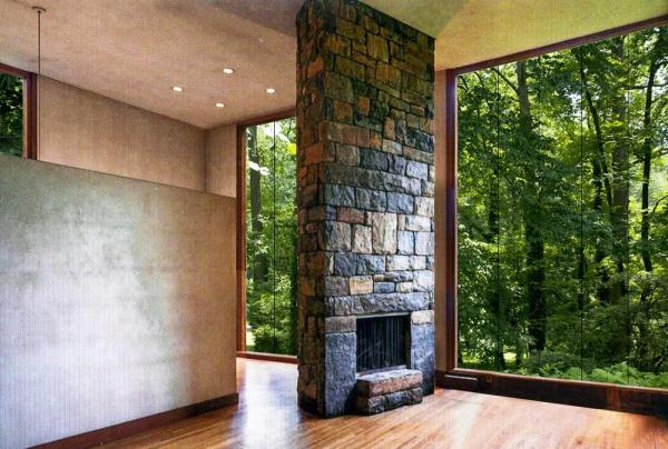 Louis I. Kahn's Fisher House as experienced on the property., Image Courtesy ©  REX