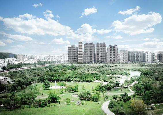 Kaohsiung Tower Park Museum View.,  Image Courtesy © spatial practice