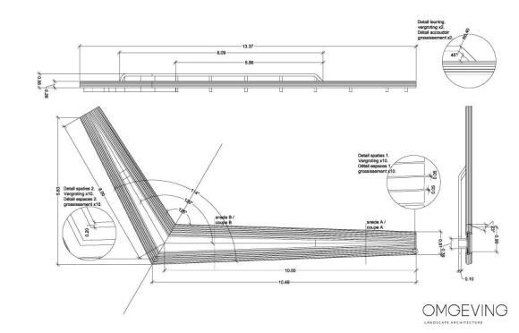 detail bench