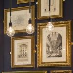 Gold-framed Sir James Pennethorne drawings and illustrations, Image Courtesy © Gareth Gardner