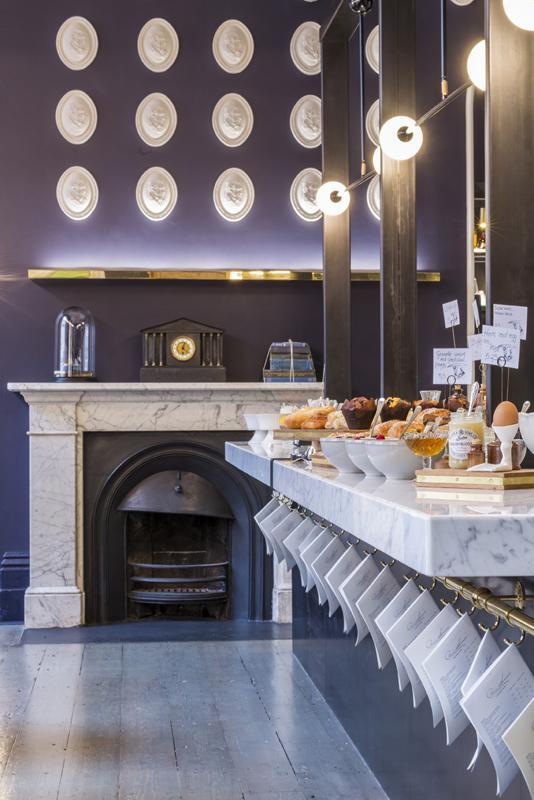 Chef's Table set up for breakfast offer, Image Courtesy © Gareth Gardner
