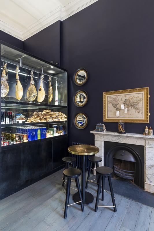 Pennethorne's Cafe Bar first section at lunchtime, Image Courtesy © Gareth Gardner