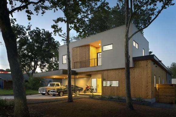 Matt Fajkus MF Architecture Tree House_Perspective Front