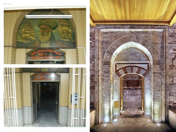 Restoration of the Entrance Gate, Image Courtesy © Sibel Ozkars (old), Cengiz Karliova (new)
