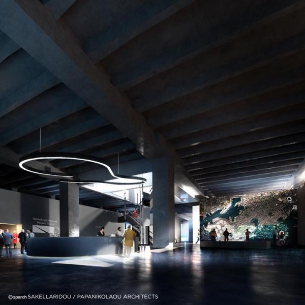 Main Lobby, Image Courtesy © SPARCH SAKELLARIDOU/PAPANIKOLAOU ARCHITECTS