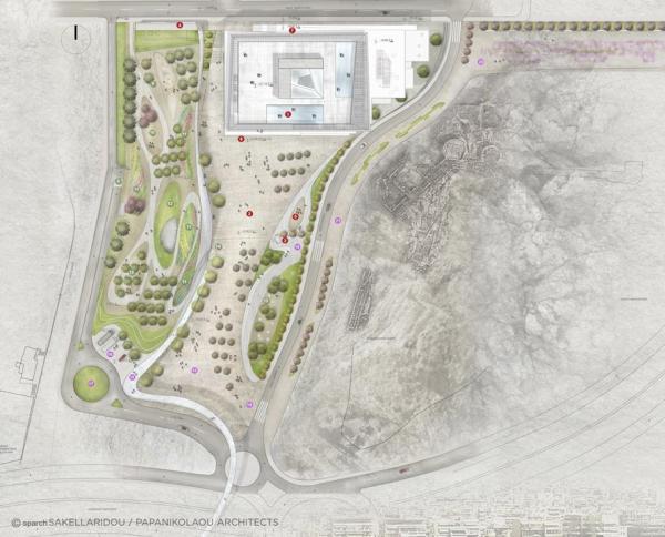 Masterplan, Image Courtesy © SPARCH SAKELLARIDOU/PAPANIKOLAOU ARCHITECTS