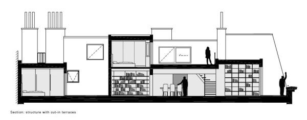 different room heights and room configurations, Image Courtesy © PPAG architects