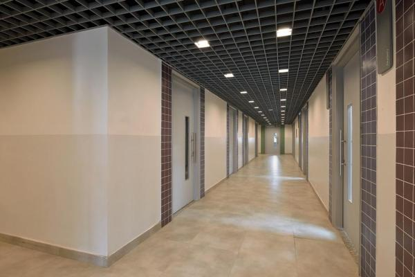 NTS Interiors corridor, Image Courtesy © Ravi Kanade