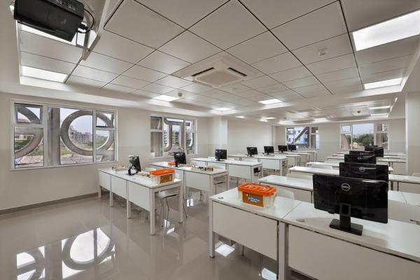 NTS Interiors laboratory, Image Courtesy © Ravi Kanade