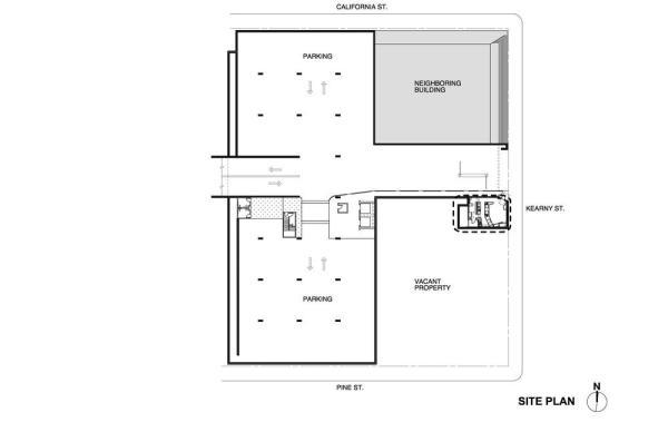 Site Plan, Image Courtesy © jones | haydu