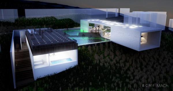 Bck view , Image Courtesy © BCMF Arquitetos / Mach Arquitetos