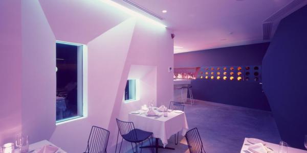 In the restaurant, Image Courtesy © Erieta Attali