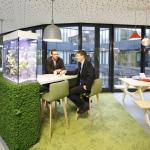 First Floor_Meet & Create_Coffee Point_Aqua Bar, Image Courtesy © Thomas Beyerlein