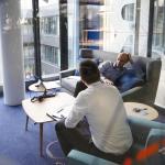 First & Second Floor_Homebase_Meeting Room_Lounge Typology, Image Courtesy © Thomas Beyerlein