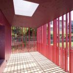 exterior classroom, Image Courtesy © Christian Senti