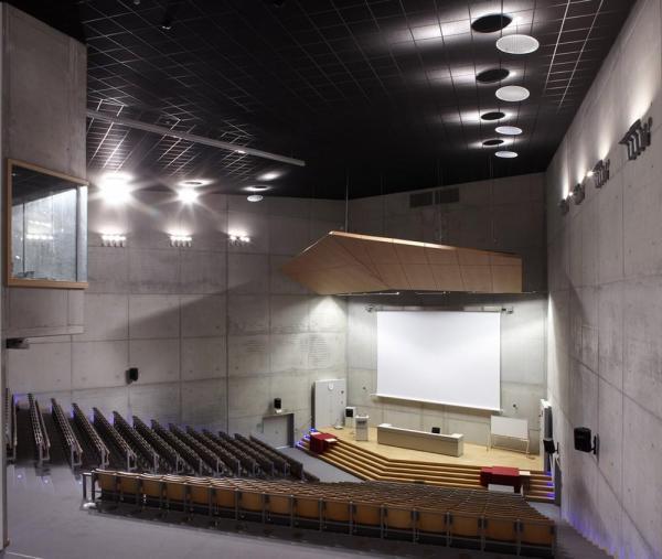 Auditorium, Image Courtesy © Toon Grobet