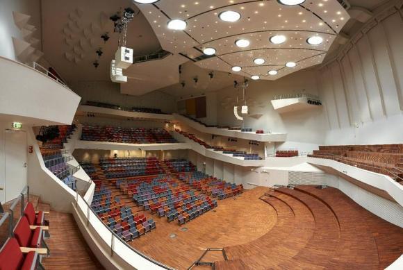 GA_ConcertHall_ViewfromBalkony, Image Courtesy © Merks Ltd