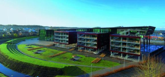 Campus general view campus , Image Courtesy © Christine Deboosere