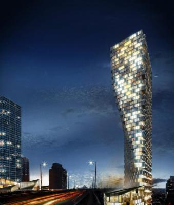 Vancouver House, Canada, BIG - Bjarke Ingels Group, Image Courtesy © BIG - Bjarke Ingels Group