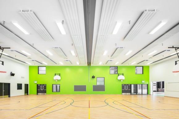 Gymnasium, Image Courtesy © Charles Lanteigne
