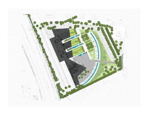 Masterplan, Image Courtesy © SAR architecten