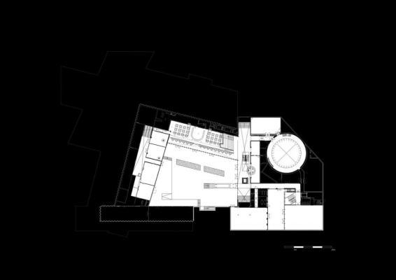 plan level -1, Image Courtesy © Shift Architecture