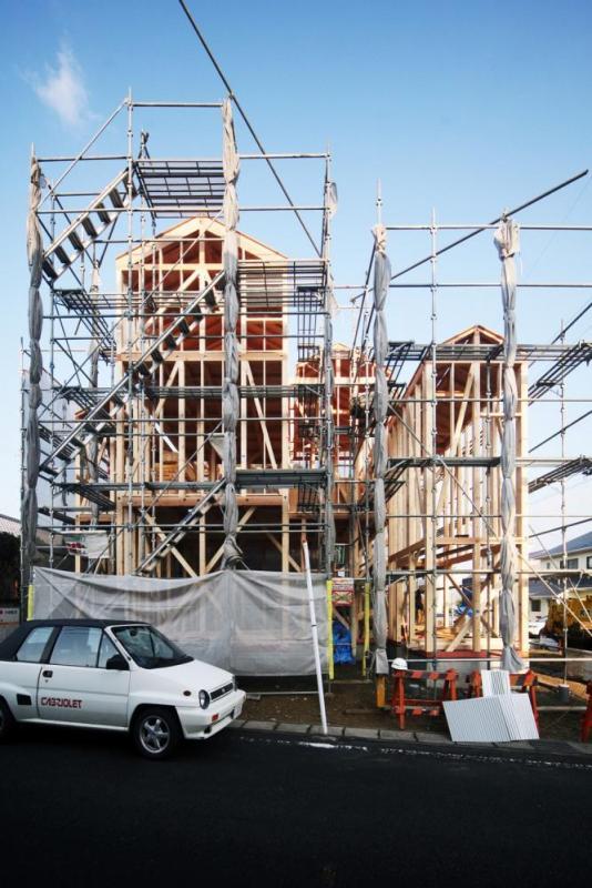 photo under construction, Image Courtesy © Shuhei goto architects
