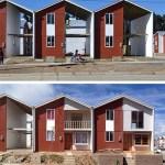 Villa Verde Housing, 2013, Constitución, Chile. Photos by ELEMENTAL.