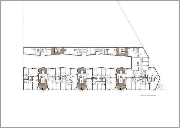 Plan level 3, Image Courtesy © Tetrarc architectes