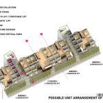 Unit arrangement 1st floor, Image Courtesy © SPARK architects