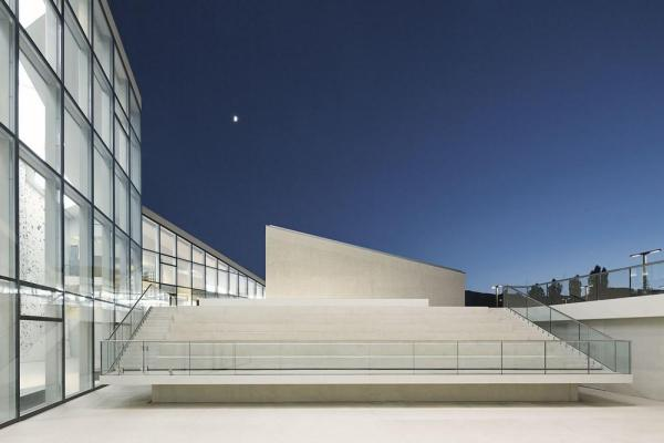 Night view from the amphitheatre, Image Courtesy © Rene Riller