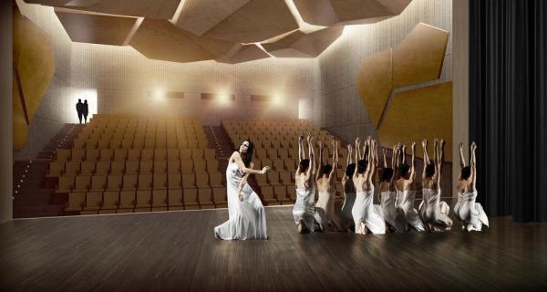Theatre, Image Courtesy © 3TI PROGETTI + 3TI_LAB