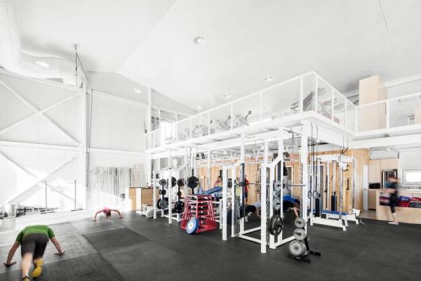 Training area, Image Courtesy © Adrien Williams