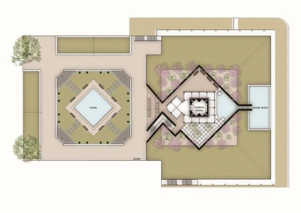 SITE PLAN, Image Courtesy © spacematters