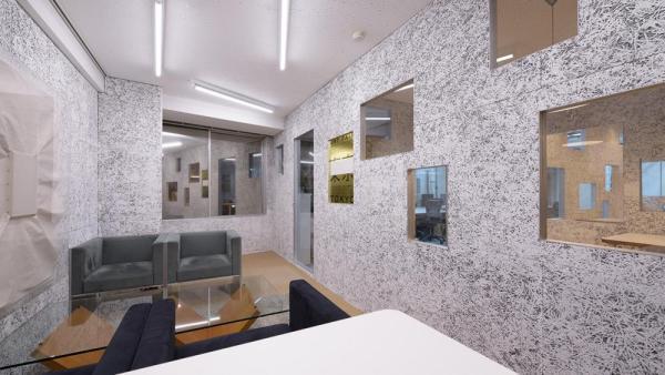 The interior view of the chairman room, Image Courtesy © Yasutake Kondo