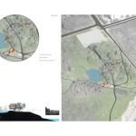 Site Plan/Section, Image Courtesy © PLANT Architect Inc.